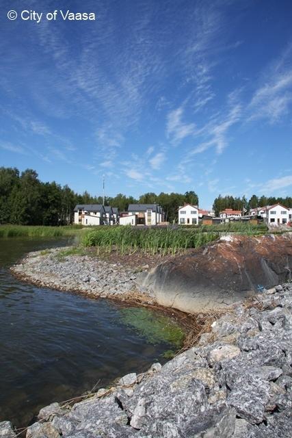 Houses @ Vaasa. www.visitvaasa.fi. Photographer Jenni Tuliniemi