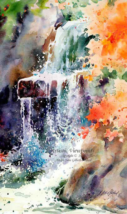 painting the autumn landscape watercolor unleashed with julie gilbert pollard - Google Search