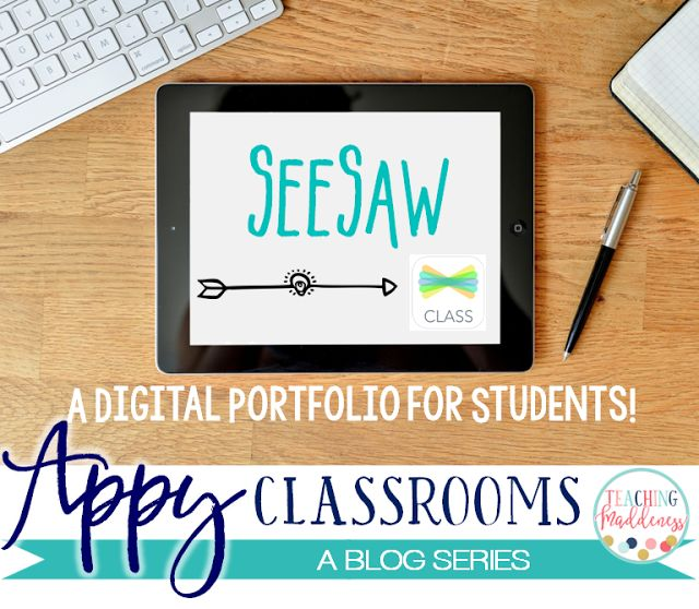 How to useSeeSaw to create digital student portfolios.