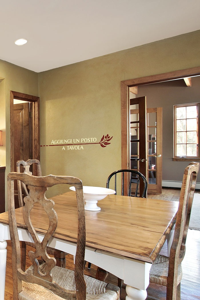 17 best images about kitchen dining room decals on for Kitchen come dining room ideas