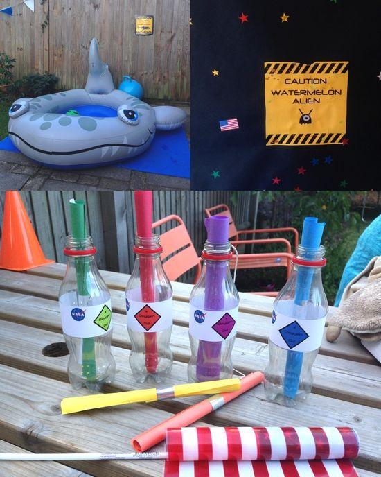 Chasse au trésor - Anniversaire de l'espace - treasure hunt - outer space birthday party