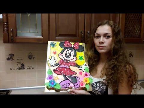 Мастер класс по торту раскраска Торт Медвежонок Cake decoration Украшение торта - YouTube