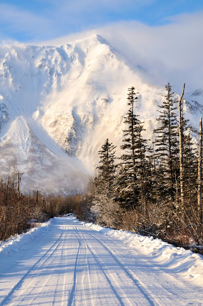 ***Windy and cold: Old Nash Road and Iron Mountain (Seward, Alaska) by Dan Logan cr.c.