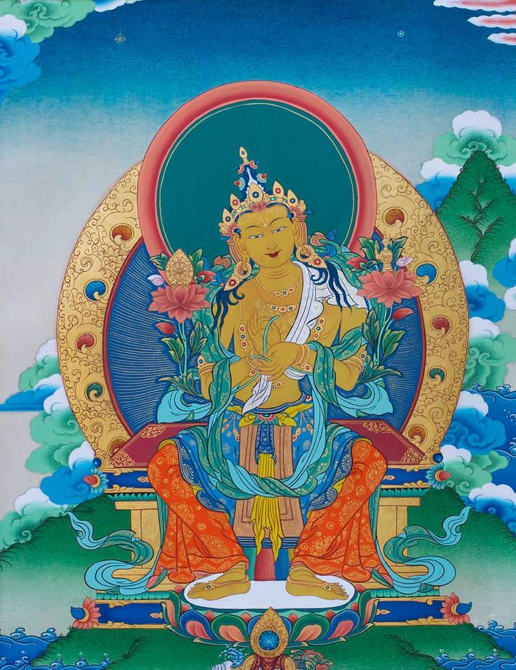 Buddha Maitreya Thangka @ NORBULINGKA  www.norbulingkashop.com