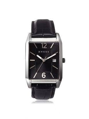 46% OFF Cross Men's CR8001-01 Gotham Black Stainless Steel Watch