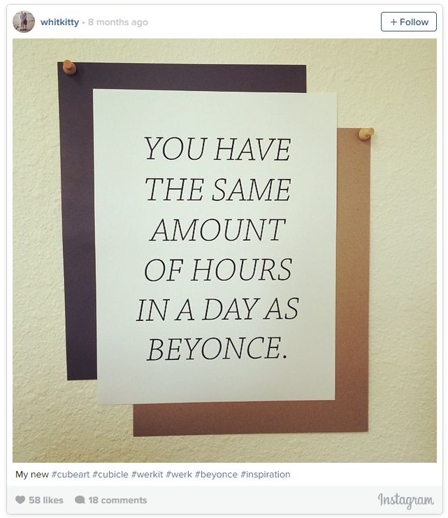easy way to add decorate with inspirational quotes