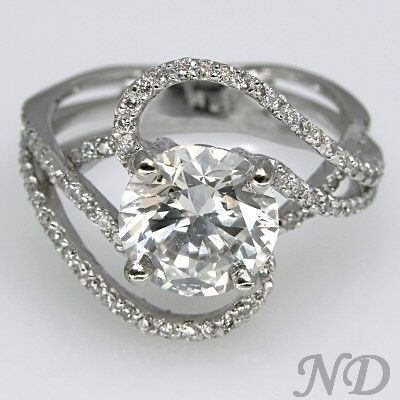 I really hope my future husband looks at my Pinterest before buying my ring. Because I want this. Ever so badly.