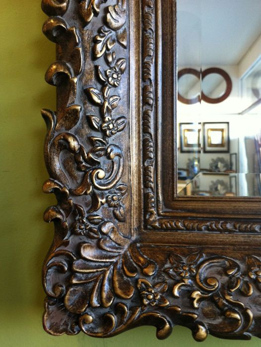 45 x 57 large ornate decorative wall mirror mantle entry on mirror wall id=84948