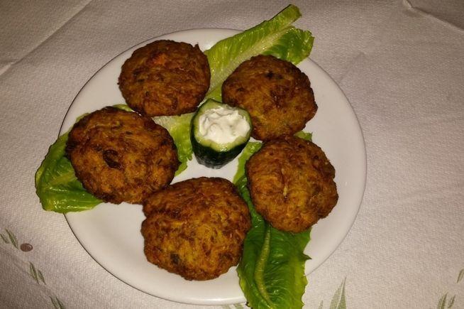 "Fried Pumpkinballs from Elatos Tavern #Kalavryta #Achaia #Peloponessos #Greece Visit the tavern to taste traditional Greek dishes with a 10% discount with WeGreek card Ταβέρνα ""O Έλατος"" | WeGreek"