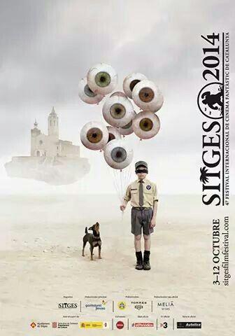 Cartell Festival Internacional de Cinema Fantàstic Sitges 2014