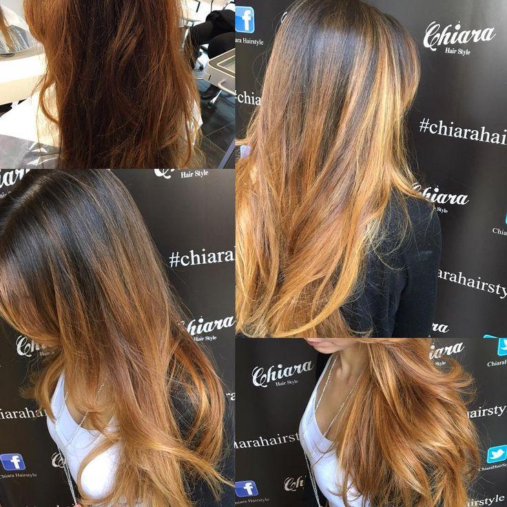 #blending con #newmagmacolor  @wellahair  #haircolor #bari  #hairsalon...#top #quality  #hair ...#chiarahairstyle ❤️