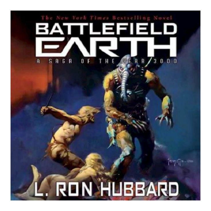 Battlefield Earth (Audio CD) by L. Ron Hubbard, Scott Menville, Fred Tatascoire, Josh Clark, Stefan Rudnicki
