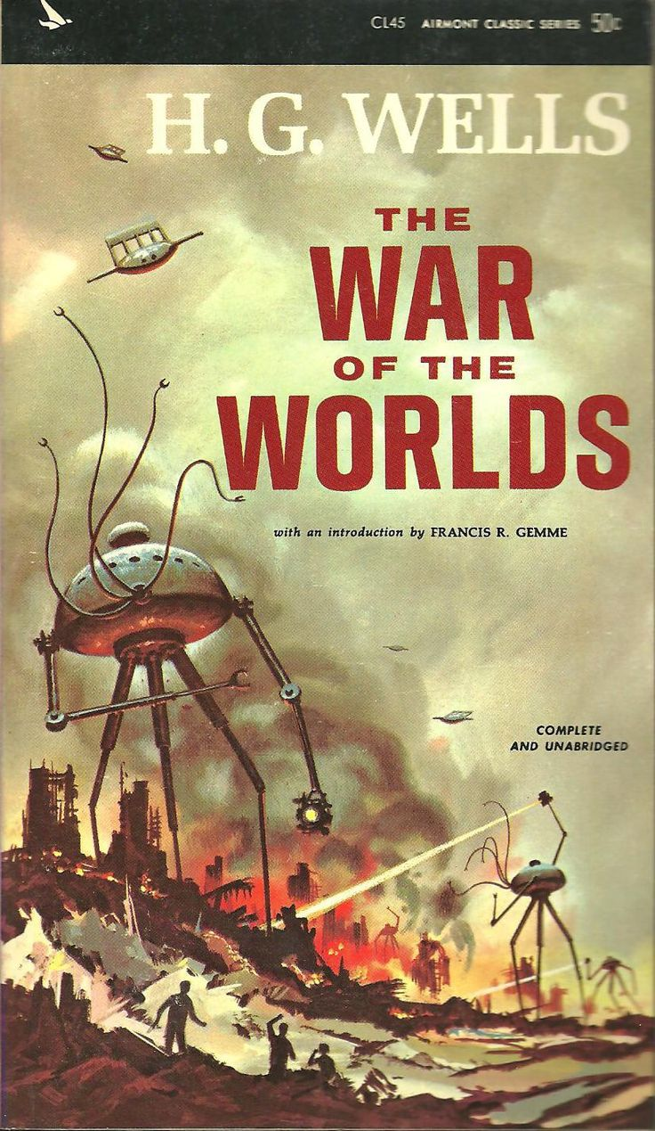 Uncategorized Tripod Books 47 best war of the worlds images on pinterest tripod sci fi art hg wells airmont edition 1964