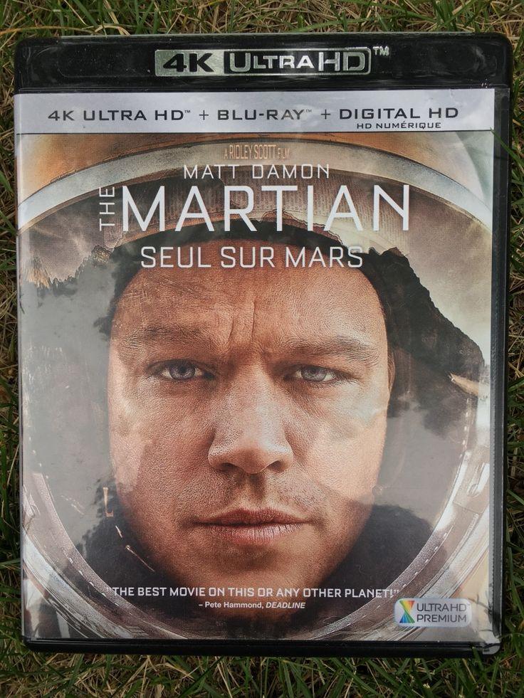 The Martian 4K HDR BluRay!!  in Edmonton - letgo