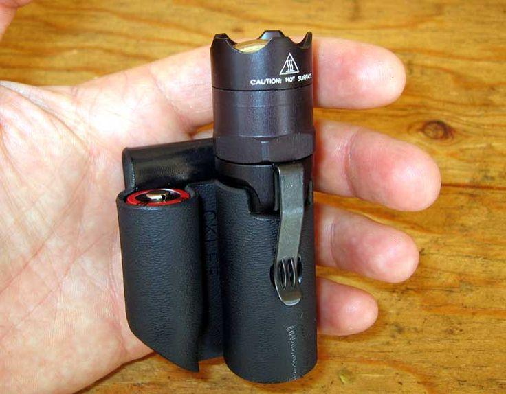 Kydex flashlight/battery holder