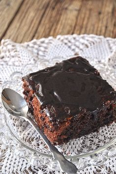 Σοκολατένιο κέικ βραστό ή κατσαρόλας ή μελαχροινή / Boiled chocolate cake