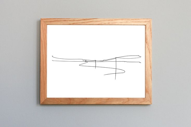 Printable drawing | Landscape | Digital printing | Minimalist | Geometric | Wall Art | Abstract art prints | Graphic design
