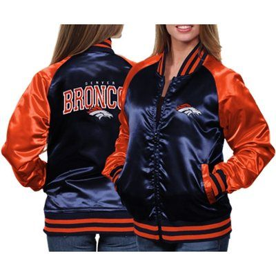 MTC Denver Broncos Women's Team Spirit Satin Jacket