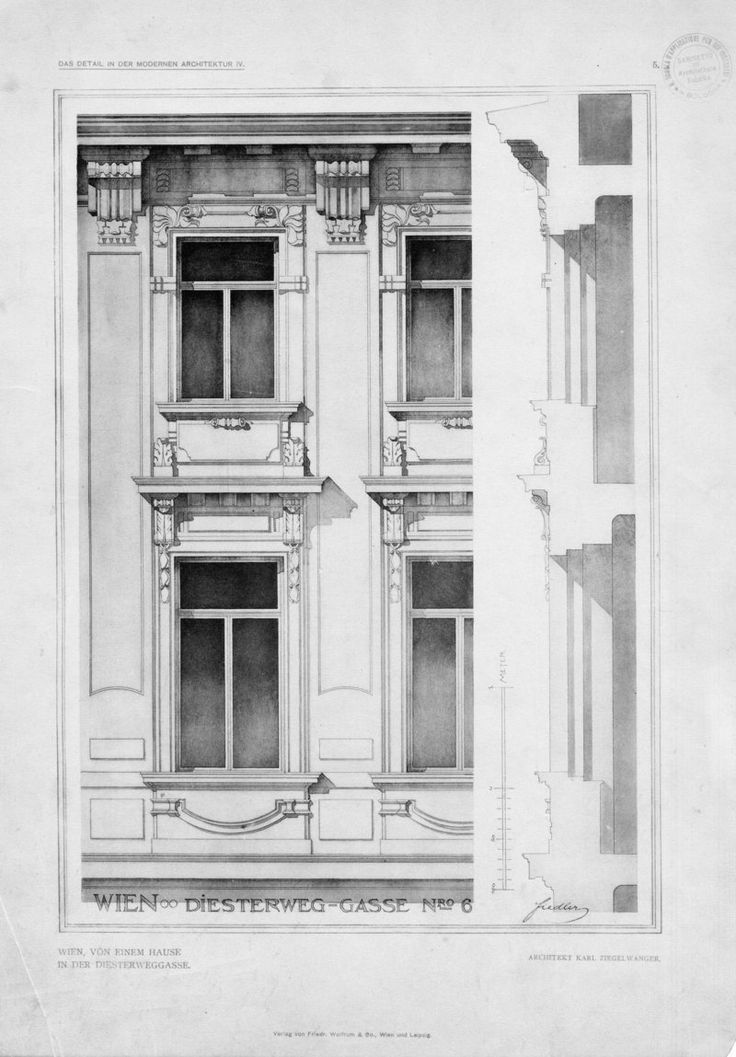 Serie IV: Einzelheiten neuer Bauten Deutschlands un... | Fiedler, L.  Architecture ...