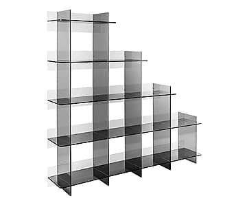 "Knihovna ""Libber Plex"", 180 x 300 x 180 cm"