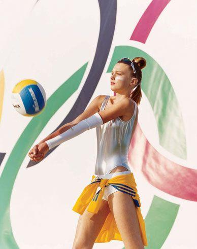 Olympic athletes' winning style