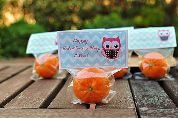Cutie Valentine (with Free Printable) by the Cheese Thief