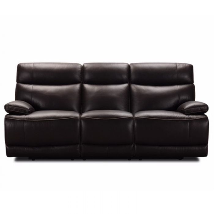 Louie Ranch Brown Top Grain Leather Power Reclining Sofa Weekends Only Furniture Power Reclining Sofa Reclining Sofa Power Recliners
