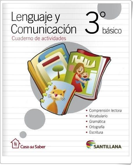 Cuaderno de Lengua de 3º de Primaria (Editorial Santillana Chile)