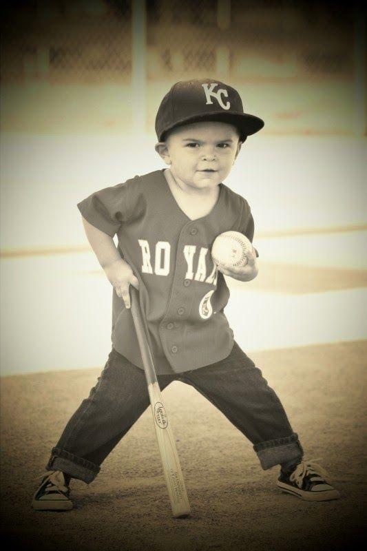 Royals photography toddler baseball photos