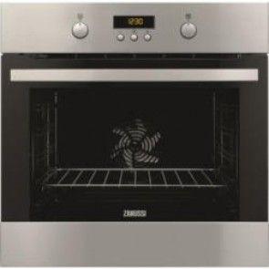 Zanussi ZOP37902XK Electric Built-in Single Oven In Stainless Steel With Antifingerprint Coating