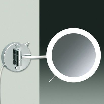 wall mounted magnifying mirror led mirror round mirrors forwards wall