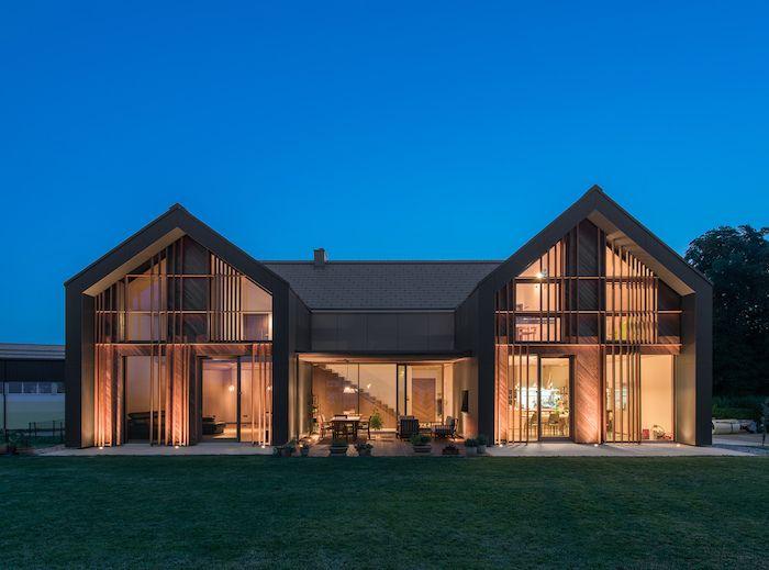 ▷ 1001 + idéias para casas modernas da família – design de interiores e exteriores   – Architektur