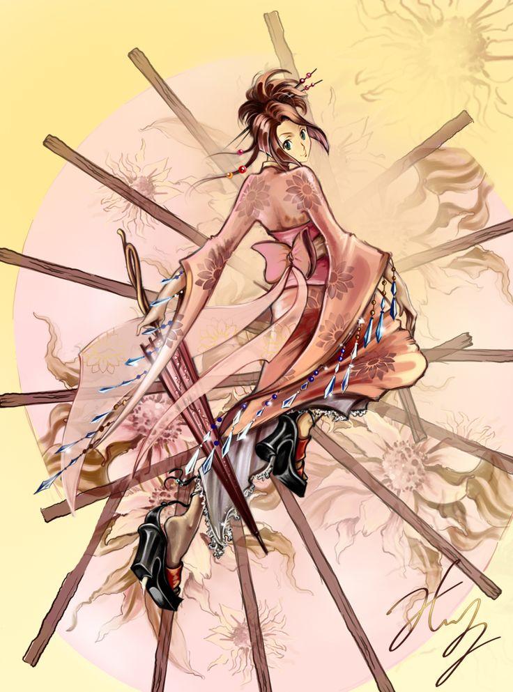 Fuu from Samurai Champloo.