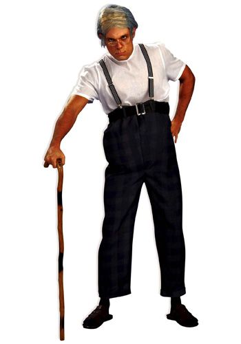 Old man costume for Caden.