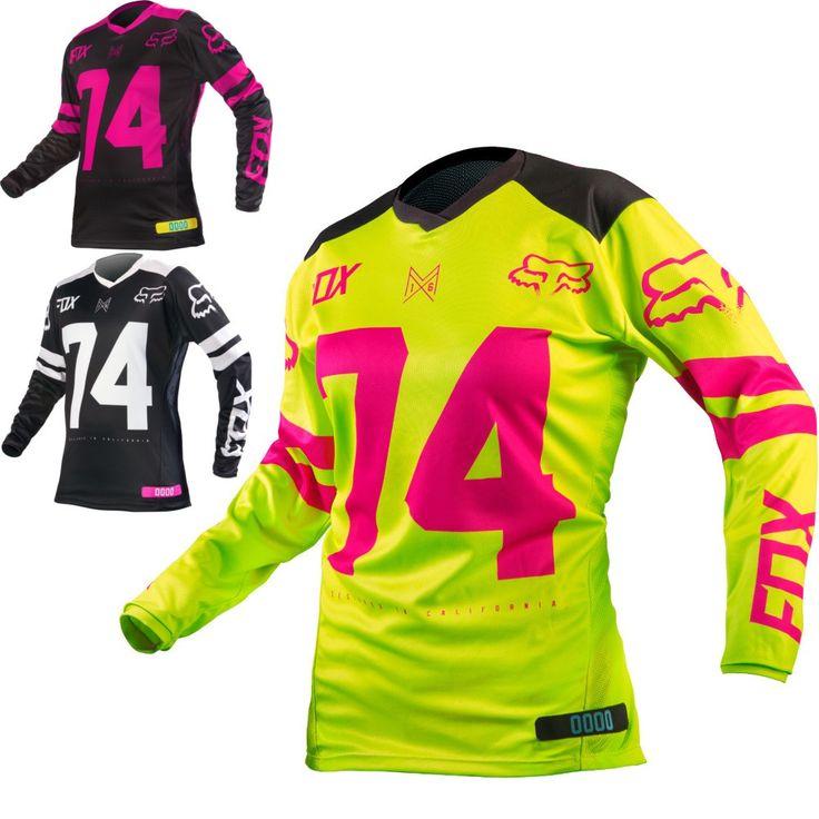 Fox Racing Switch Womens Off Road Dirt Bike Racing Motocross Jerseys