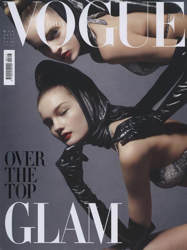 Vogue Italia May 2010 - Daria Strokous & Kirsi Pyrhonen