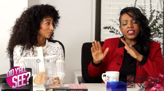 """Guest Editors, Sheryl Lee Ralph and Africa Miranda fill us in on all the juicy topics this week episode of Did Y'all See? including Lifetime's """"Whitney"""" movie."""