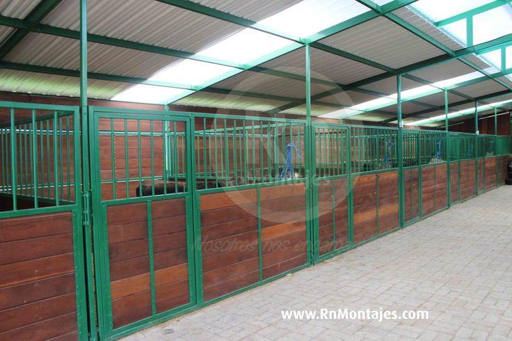 Corrales Portátiles Deluxe - para acomodación de ganado.  Medidas de: 3mx3m, 3mx4m, y 4mx4m