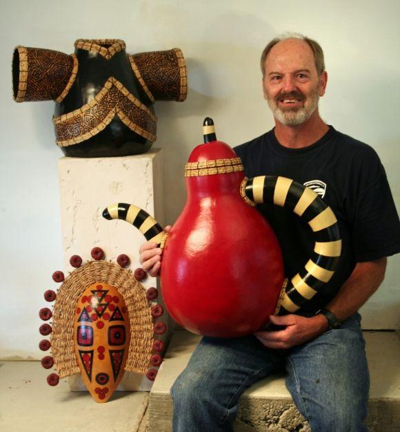 Gourd Artist Don Weeke