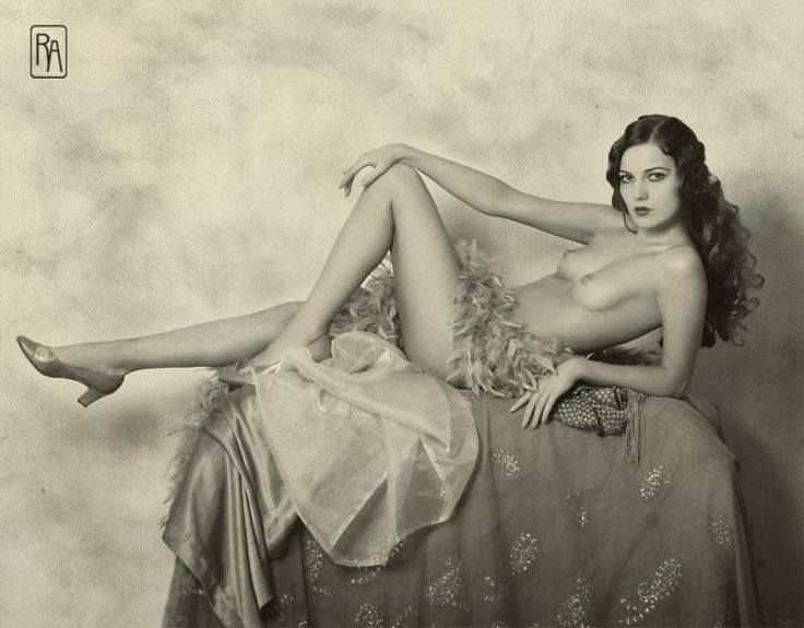 Another of Ziegfeld Girl Alice Wilkie shot in 1925 by Alfred Cheney Johnston.  Again, This is a modern photo by Retroatelier.