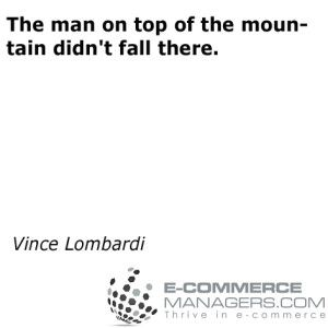 Another terrific #quote by Vince Lombardi