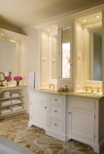 bumped out counter top cabinet with mirrored door framed mirrors cabinets dream