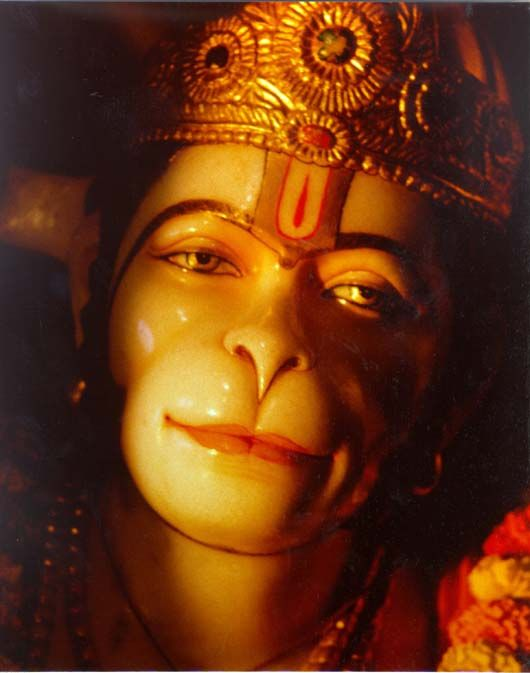 """Jai Jai Jai Hanumana gosa-ee, kripa karahu gurudeva kee na-ee""........from the Hanuman Chalisa.  Hanuman is my guru dev!"