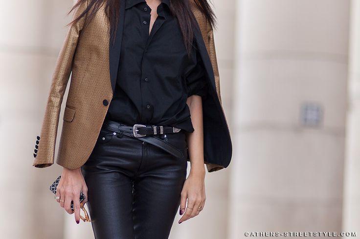 Evangelie Smyrniotaki / Styleheroine, Paris Fashion Week Fall 2014 Street Style