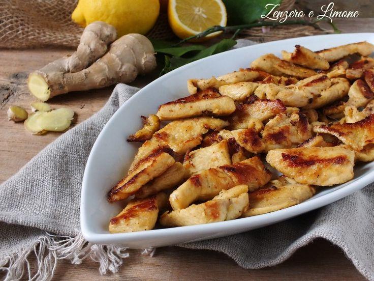 Questo pollo allo zenzero e limone è un secondo piatto appetitoso e molto digeribile. Qui il piccantino dello zenzero è ingentilito dal succo di limone.