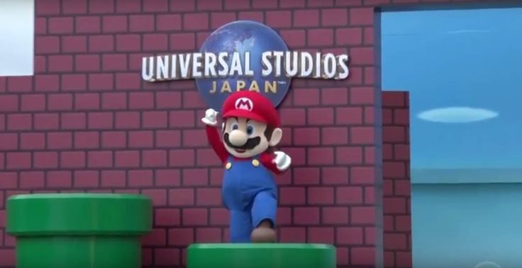 Construction of the new Nintendo theme park area of Universal Studios Japan gets underway with a surreal Super Nintendo World Groundbeaking Ceremony event