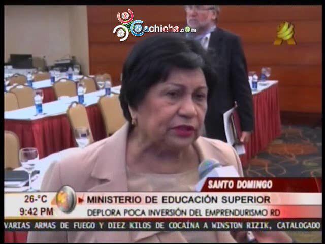 Ministra De Educación Superior Dice No Hay Apoyo Al Emprendiemiento #Video