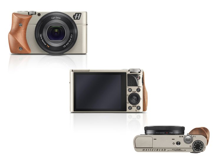 Known as the world's first luxury compact camera, The Hasselblad Stellar redefines quality with its elegantly designed aluminum body and metal operation controls. http://www.zocko.com/z/JEqtJ