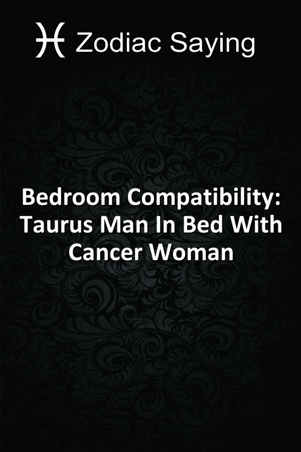 taurus man interested