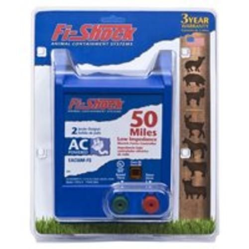 Fi-Shock EAC50M-FS Electric Fence Energizers, 50 Mile